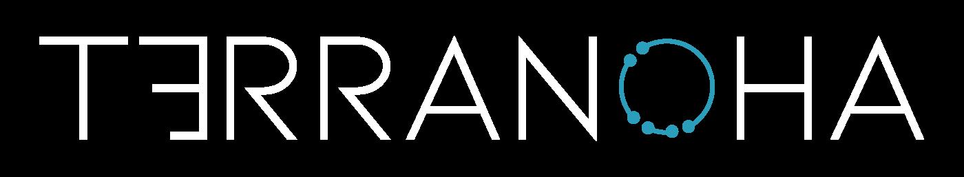 Terranoha Logotype White