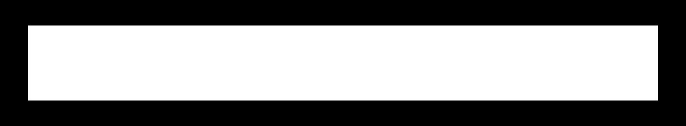 Terranoha Logo Monochrome White